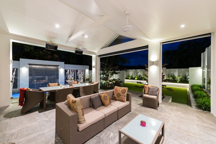 How To Light An Alfresco Outdoor Living Area Led Outdoor