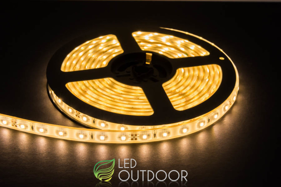 & IVY Low Intensity Warm White LED Flexible Strip Lighting - 5m / 10m Reel