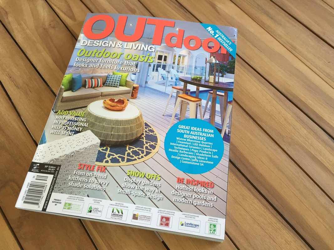 Featured in Outdoor Design & Living Magazine