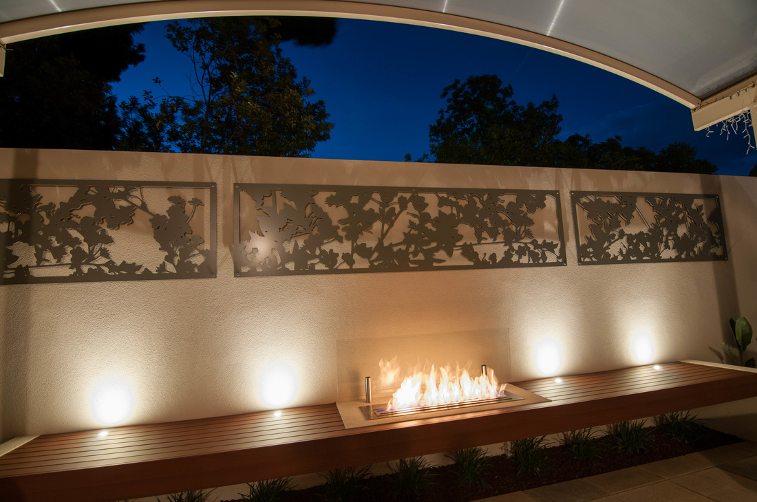 Large Feature Wall Lights : Tips to get the most out of your garden lighting - LED Outdoor - Bring your garden to life with ...